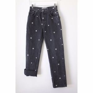 Reformation RARE Cynthia High Relaxed Daisy Jean